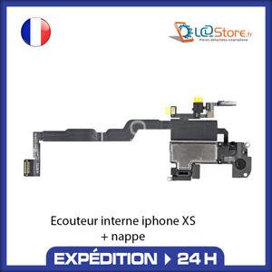 Écouteur interne IPHONE XS + Micro + CAPTEUR LUMIÈRE PROXIMITÉ HAUT PARLEUR