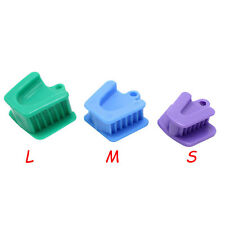 10 Pc Dental Silicone Latex Mouth Props Bite Blocks Cheek Opener Retractor Lms