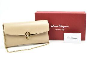 Salvatore-Ferragamo-Gancini-Icona-Macadamia-beige-shoulder-handbag-purse-875