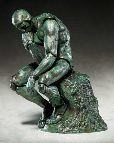 The Thinker The Table Museum Freeing Action Figure Figma SP056