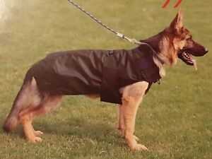 Details about Ferplast Moda Cardiff Raincoat Protects Dog in all weather  Washable Dark Blue