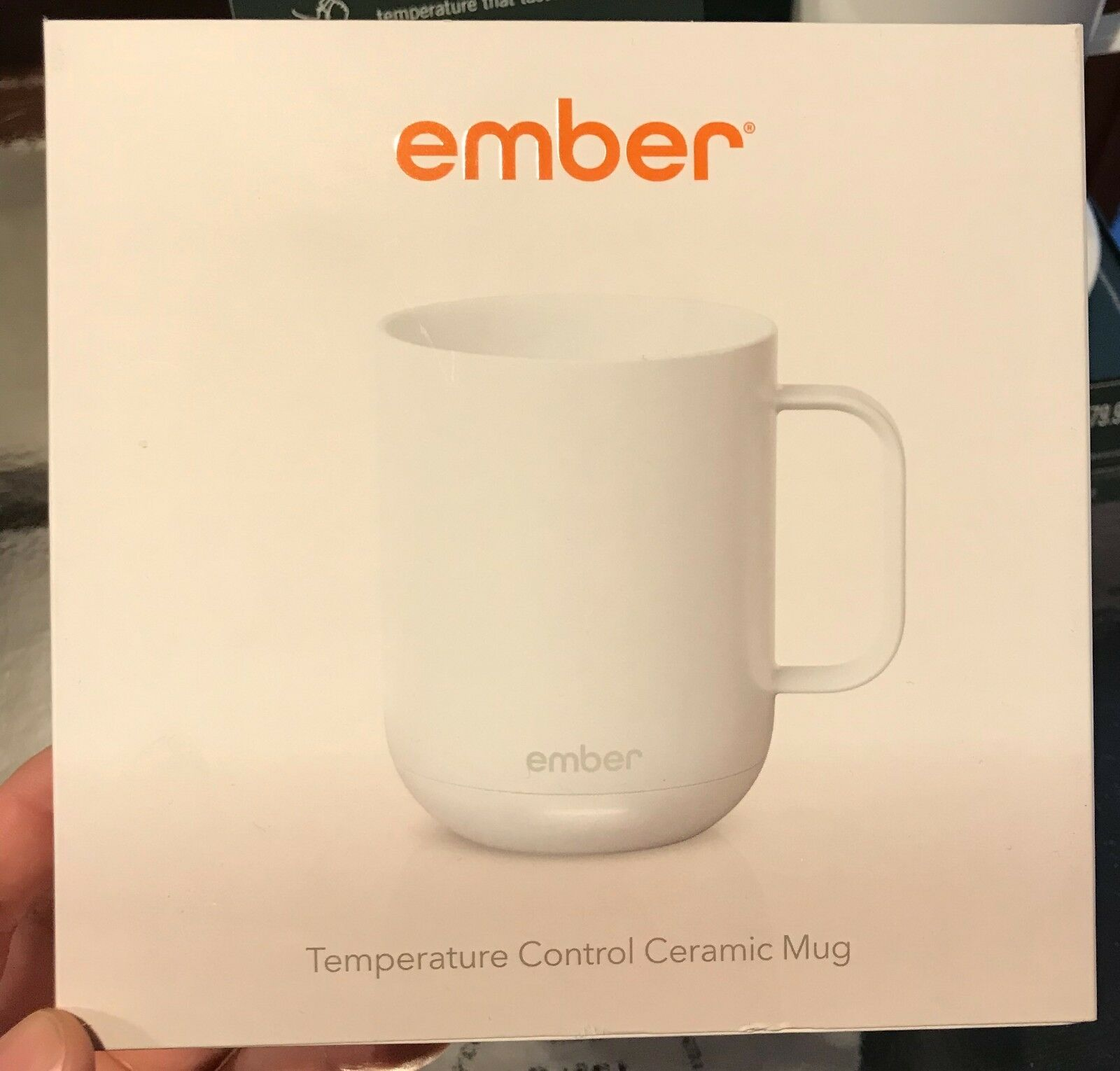 Ember Ceramic Mug Temperature Controlled - Fast Free Shipping