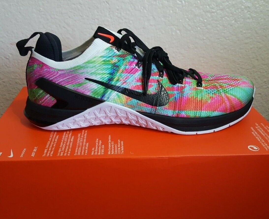 Nike Metcon DSX Flyknit 2 WP Multicolor Crossfit Trainer shoes Unisex AH7883-180