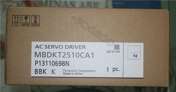 1Pcs New Panasonic Servo Drive MBDKT2510CA1 MBDKT2510CA1 ua