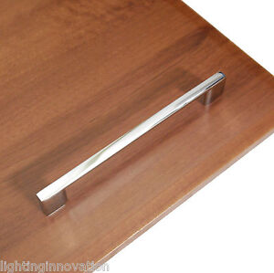 polished chrome kitchen cabinet handles slimline kitchen cabinet cupboard door drawer handle 7517