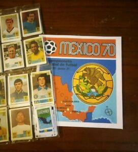 MEXICO-70-ALBUM-CALCIATORI-PANINI-EDIZ-INTERNAZIONALE-SET-FIGURINE-ANASTATICO