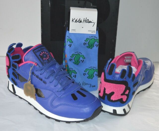 New Reebok X Keith Haring CL Leather Lux