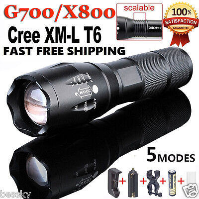 G700 Focus Tactical Flashlight LED Military Lumitact Alonefire ShadowHawk X800