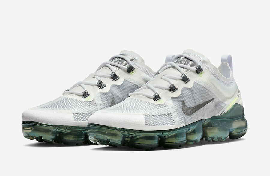 Nike Air VaporMax 2019 PRM Premium White Lime AT6810-100