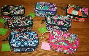 NWT-Vera-Bradley-Travel-Organizer-JEWELRY-CASE-bag-holder-pouch-4-tote-carry-on