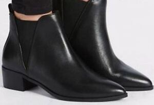 Leather Black Wider Boots Colour New amp;s Collection M Fit PnIYfq4