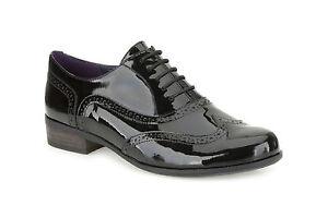 a4c06dda123de Image is loading Clarks-shoe-Womens-Hamble-Oak-Black-Patent-Lace-