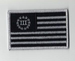 Biker-Militia-3-Percent-American-US-Flag-Patch-3-5-x-2-0