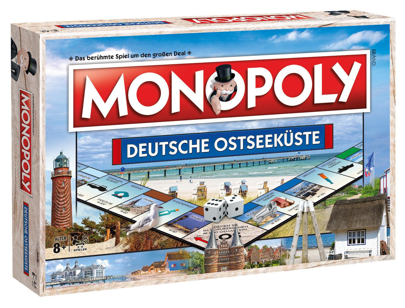 Monopoly Deutsche Baltique Édition Baltique Fehmarn