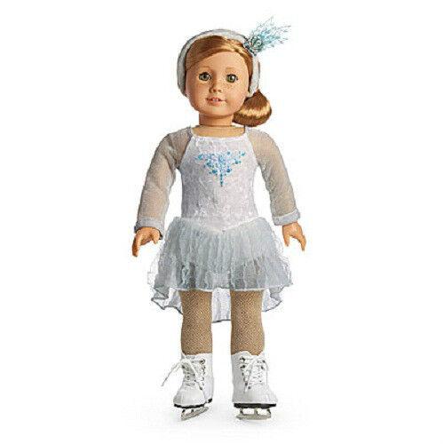 773e907cb American Girl Doll 2008 Mia s Silver Skate Dress Set for sale online ...