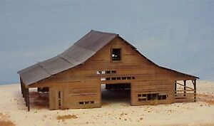 Details about HO Scale DeLoney's Barn Kit (2007)