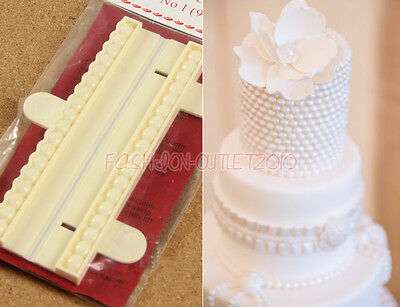 Fondant Beads Cutter Sugarcraft Cake Tool Ball Decorating Bead Pearl Craft Mould