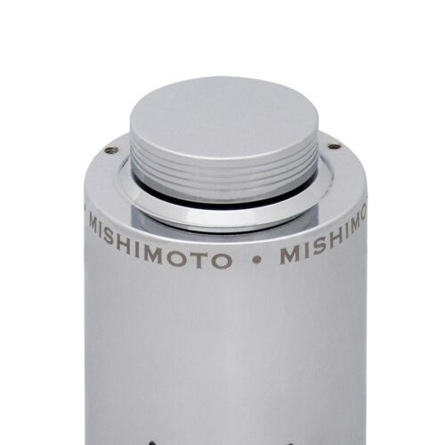 Mishimoto Aluminum Power Steering Reservoir Tank Polished Aluminum Universal