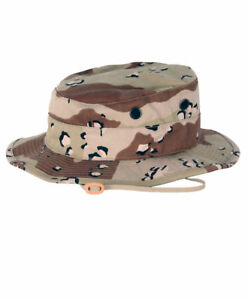 Details about NEW USMC DESERT STORM BANCROFT BOONIE HAT CAP DESERT 6 COLOR  CAMO CHOCOLATE CHIP 5d4c3d2d148