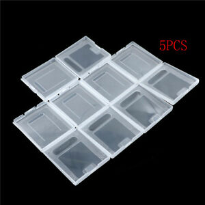 5Pxs-Clear-Plastic-Game-Cartridge-Case-Dust-Cover-for-Game-Boy-GB-GBC-GBP-QC