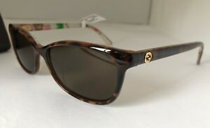 e704f62ce8a GUCCI Floral Sunglasses GG 3699 N Z9X Crystal Clear Women 140 Temple ...