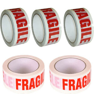 TAPE-Rolls-Of-FRAGILE-STRONG-Parcel-Tape-Packing-FRAGILE-Packaging-48mm-x-66m