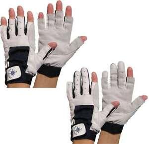 M 8 Rigginghandschuhe Handschuhe 4 Paar BluePort Segelhandschuhe AMARA PRO Gr