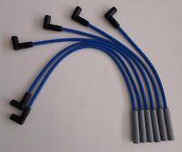 Ford Inline 6 Cylinder 1965-1976 240 300 Blue Hei 8mm Spiral Spark Plug Wires