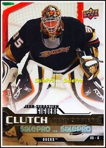 UPPER-DECK-2007-JEAN-SEBASTIEN-GIGUERE-NHL-DUCKS-GOALIE-CLUTCH-PERFORMERS-CP5