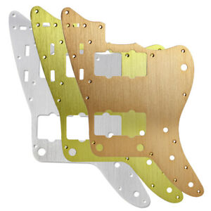 Aluminum-Metal-JM-Pickguard-Alu-Scratch-Plate-for-Vintage-US-Jazzmaster-Guitar