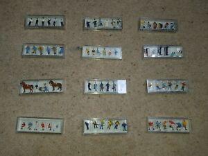 HO-1-87-similar-to-OO-Gauge-PREISER-Figures-People-Men-women-Children-Various