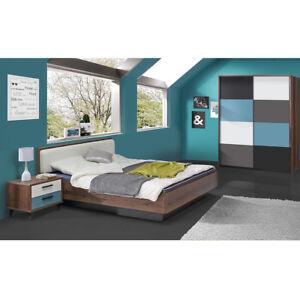 Das Bild Wird Geladen Jugendzimmer 1 Raven Kinderzimmer In Schlammeiche  Weiss Schwarz