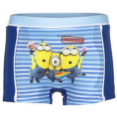 7b345a7fff Details about Kids Minion Swim trunks Children Swimming shorts Pants swim  wear boys Blue