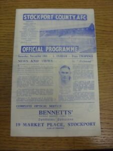 10-11-1945-Stockport-County-v-Oldham-Athletic-Division-3-North-West-folded