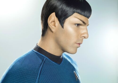 SPOCK Poster Star Trek BEYOND Zachary John Quinto new FREE P+P CHOOSE YOUR SIZE