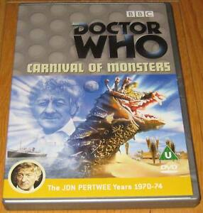 Doctor-Who-DVD-Carnival-of-Monsters-Excellent-Condition
