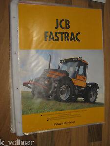 Courageux Pelleteuse Prospectus Jcb Fastrac 130 Turbo & 150 Données Techniques & Dessin