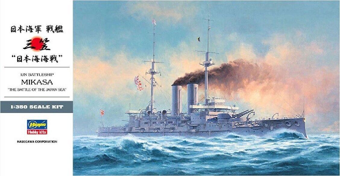 Hasegawa 1 350 40021 IJN Battleship Mikasa  Battle Of The Japan Sea