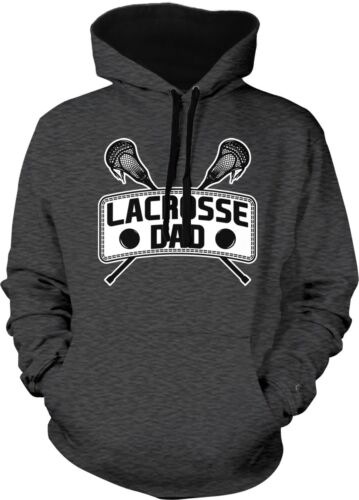 Lacrosse Dad Father Parent Team Supporter Son Daughter 2-tone Hoodie Pullover