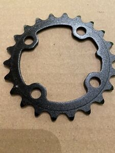 Shimano Tiagra 4550 34t 110mm 9-Speed Bike Chainring Silver