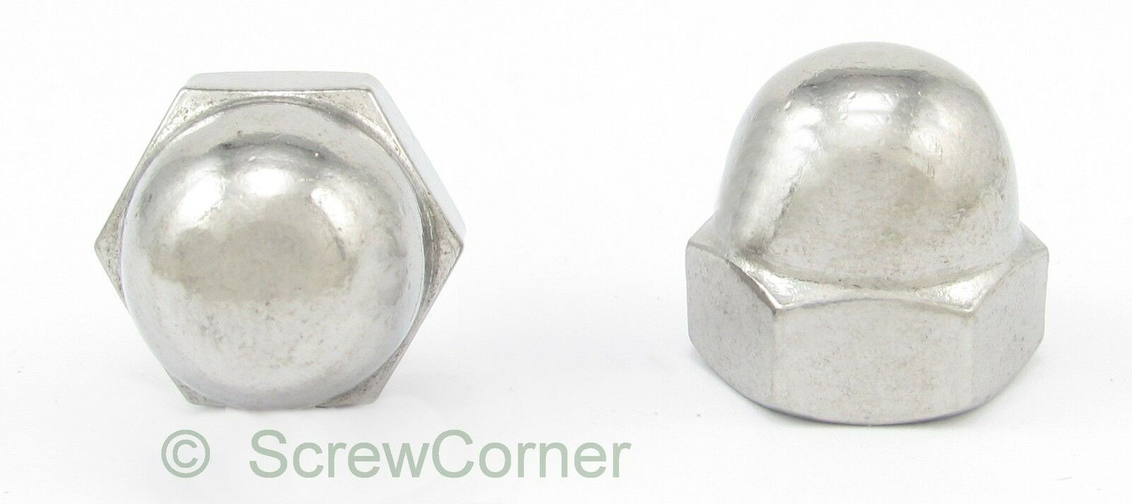 Hutmutter 1 2-20 UNF A2 Edelstahl - Acorn (Dome) Nut 1 2-20 UNF A2 Stainless