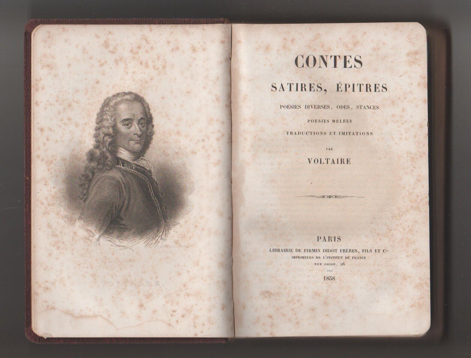 Contes, satires, epitres