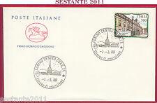 ITALIA FDC IL CAVALLINO LICEO GINNASIO STATALE VISCONTI ROMA 1988 TORINO Z257