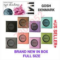 Gosh Denmark Cosmetics Eye Shadows Mono Bnib Full Sz Celeb Pressed Eye Shadow