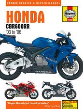 Haynes Manual 4590 Honda CBR600RR-3 CBR600RR-4 CBR600RR-5 CBR600RR-6 2003-2006