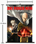 1639Anime Japan Anime One Punch Man home Wall Poster Scroll Home Decor cosplay A