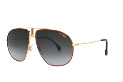 Carrera sunglasses Gold Red Gray BOUND 0AU2 9O Brand New without case