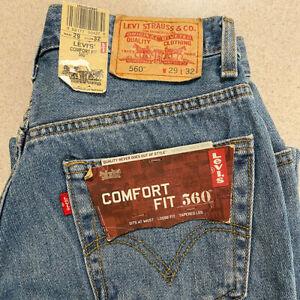 Levi's 560 NEW Men's Jeans | Size 29 x 32 Comfort Fit | W29 x L32 Stonewash