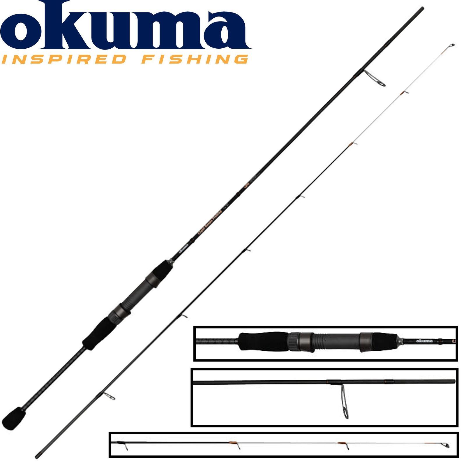 Okuma Light Range Fishing UFR Spinnrute, 245cm 8-22g - Spinnrute, UFR Barschrute, Angelrute b2b30f