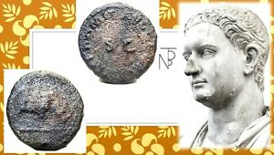 Original Antica Roma Imperiale (domiziano) Quadrante Riche En Splendeur PoéTique Et Picturale